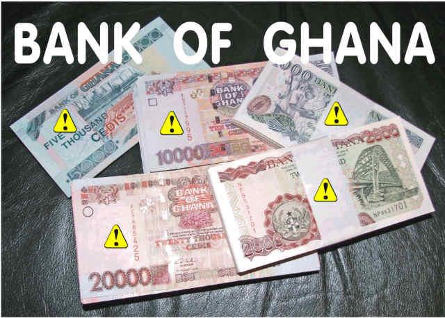 Bank Of Ghana Destroys Old Cedi Notes